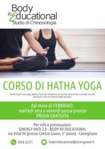 Corso Hatha Yoga conegliano presso Body Rieducational
