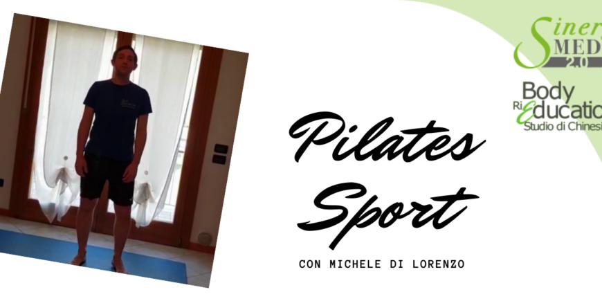 Quarta lezione di Pilates Sport con Michele Di Lorenzo